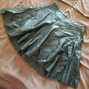 W118 by Walter Baker Faux Leather Skirt Size XS